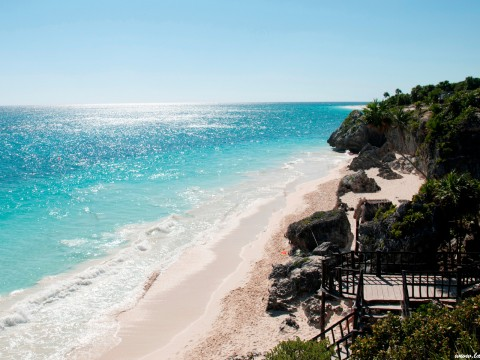 Tulum Beach II – Mexico
