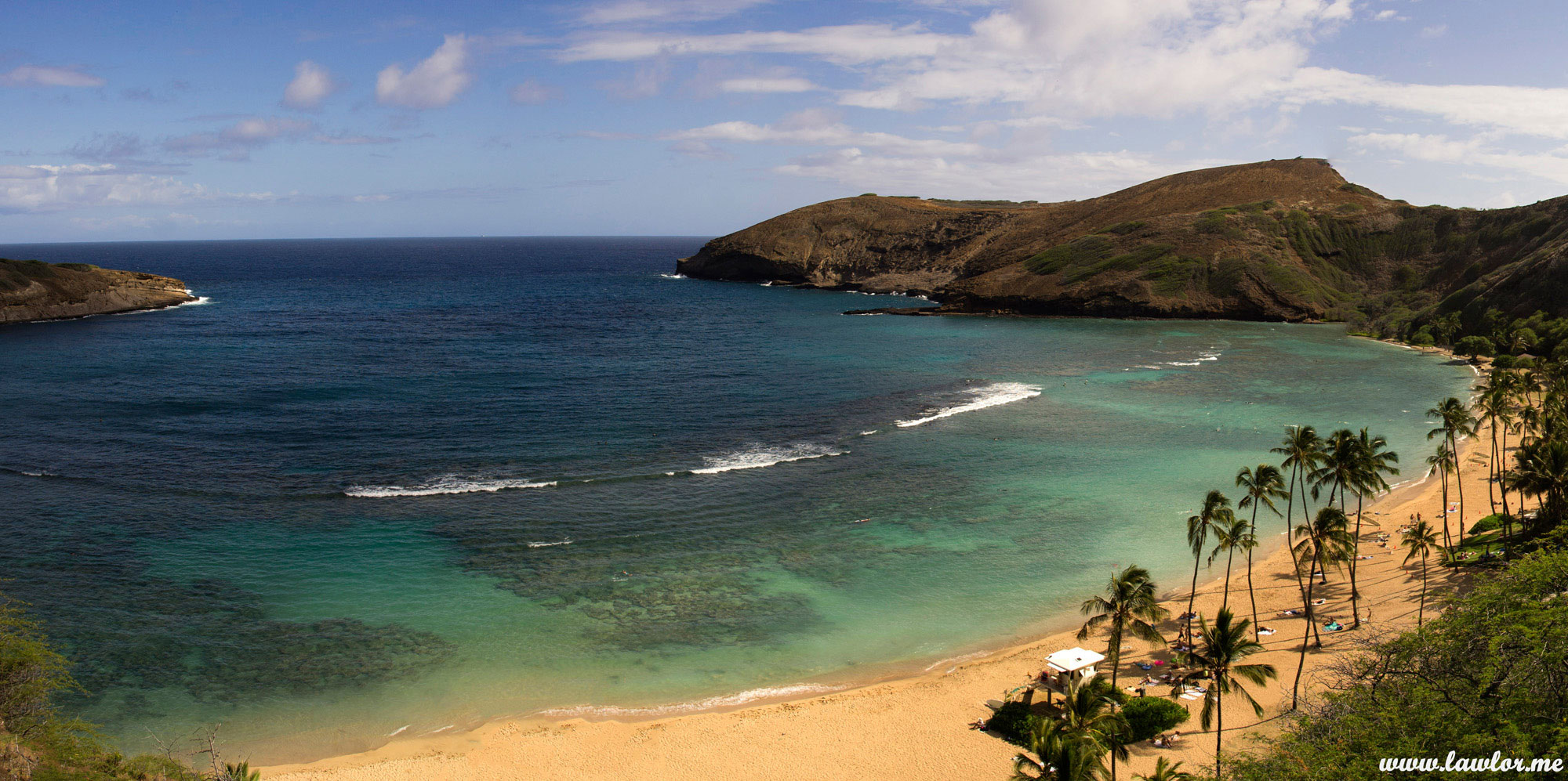 hanauma bay, oahu – hawaii - free landscape photography, free